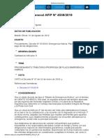 Rg 4539-19 Emergencia Hidrica