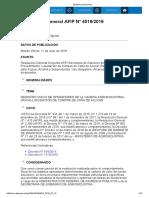 Rg 4519-19 Liquidacion Compra Caña de Azucar