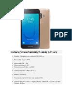 Características Samsung Galaxy J2 Core.docx