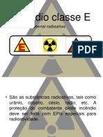 Incêndio Classe E