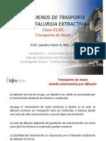 FTM Clase 18 Transporte de Masa 1