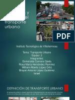 Definición y Función Del Transporte Urbano