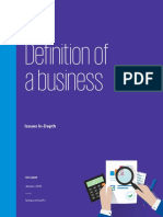 Issues in Depth Definition Business