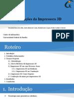Aplicações da Impressora 3D