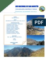 Informe de Campo Al Valle Del Colca