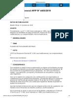 Rg 4453-19 Procedimiento Régimen de Facilidades de Pago Permanente