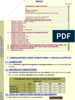 Características conductores eléctricos