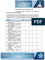 9. Formato Validacion Plataforma Web