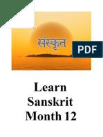 Learn sanskrit 12