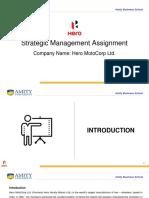 Strategic Management Individual Assignment