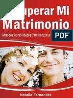 Opiniones Natalia Fernandez Recuperar Mi Matrimonio