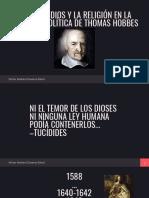 El Rol de Dios y La Religión en La Filosofía Política de Thomas Hobbes (1)