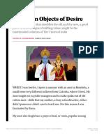 Divakaruni Uncertain Objects of Desire