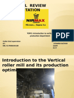 Introduction to vertical roller mill