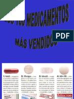 Medicamentos mas vendidos