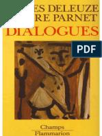Deleuze e Parnet DIALOGUES