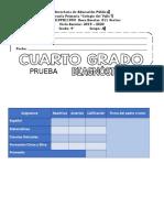 Examen Diagnostico Cuarto Grado 2019 – 2020 (1)