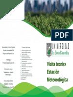 Informe Visita Estación Meteorológica UGC 2019-II