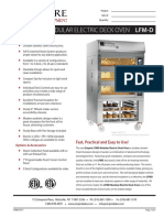 Modular Deck Oven LFMD 03171
