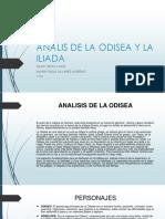 Analis de La Odisea y La Iliada