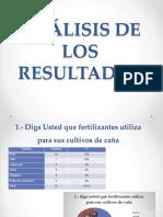 ANÁLISIS DE LOS  RESULTADOS Andrea. Ambiental.pptx