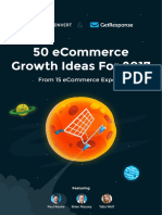50 eCommerce Growth Ideas for 2017