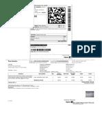 Flipkart bill