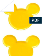 Cabezas de Mickey Mouse