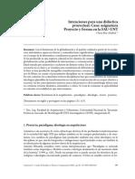 Intenciones Para Una Didáctica Proyectual_Clara Ben Altabef_2017