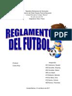 Educ. Fisica- Reglamento Futbol