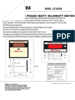 1PH Wattmeter