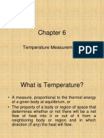 Chapter 6 Temperature Measurement