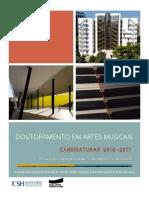 Flyer Doutoramento Em Artes Musicais