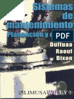 Bibliograf-A Duffuaa-Sistemas de Mantenimiento