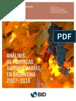 Inta Cicpes Instdeeconomia Lema d Analisis Politicas Agropecuarias Argentina 2007