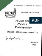 Fauna Del México Prehispanicos