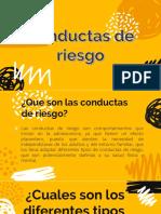 Conductas de Riesgo UPM