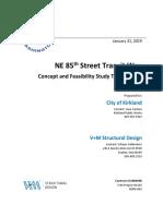 Ne 85 Th Transit Way Tech Memo
