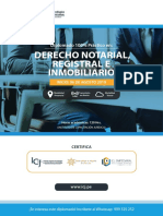 Diplomado Derecho Notarial Registral e Inmobiliario