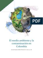 El Medio Ambiente y La Contaminación en Colombia