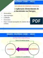 A colonização da América portuguesa - slides