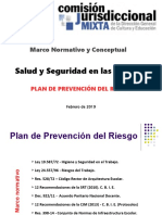 Plan de Prevención Del Riesgo - CJM DGCyE