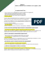 Cuestionario Comportamiento y Desarrollo Organizacional