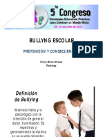 Bullying_Escolar Fanny Bernal. Psicòloga