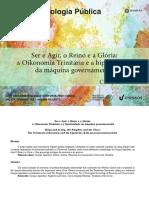 Ser e agir, o reino e a glória - a oikonomia trinitária e a bipolaridade da máquina governamental.pdf
