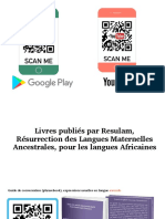 Livres Langues Africaines by Resulam (Qr Code)