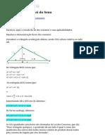 Lei Do Cosseno eLei Do Seno _ Matemática IFBA