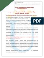 Las Referencias Bibliograficas Requeridas y Complementarias.107060