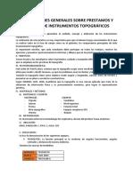 INSTRUCCIONES GENERALES SOBRE PRESTAMOS Y    CUIDADO DE INSTRUMENTOS TOPOGRÁFICOS.docx
