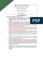Lista 1 - Alberto Romanhol